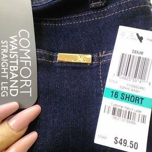 NWT JMC Indigo Straight leg Jeans